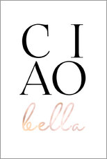 Wall sticker  Ciao bella - Ohkimiko
