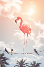 Wall sticker  Flamingo and Friends - Jonas Loose