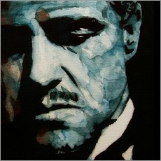 Wall sticker  The Godfather, Marlon Brando - Paul Lovering Arts