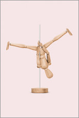 Wall sticker  POLEDANCE MANNEQUIN - Jonas Loose