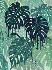 littleclyde - Monstera Melt (in Green)