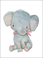 Gallery print  My little elephant - Kidz Collection