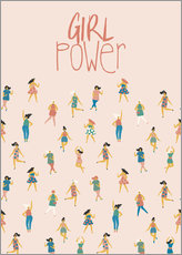 Wall sticker  Girl Power