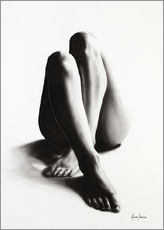 Wall sticker  Nude study of the legs 42 - Ashvin Harrison