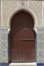 Nico Tondini - Wooden door in decorated archway