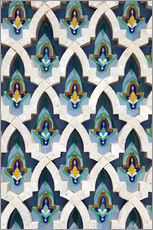 Wall sticker  Mosque facade in Casablanca - Walter Bibikow