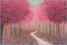 Wall sticker  Forest path in spring - James Wiens