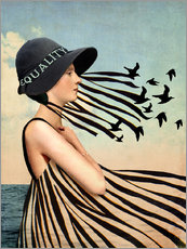 Gallery print  Equality - Catrin Welz-Stein