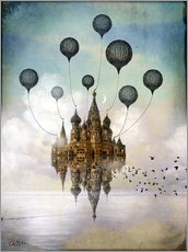 Gallery print  Travel to the East - Catrin Welz-Stein