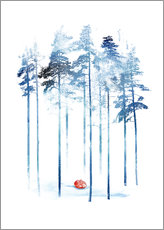 Gallery print  Sleeping in the woods - Robert Farkas