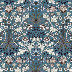 Wall sticker  Hyacinth - William Morris