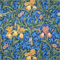 Wall sticker  Iris - William Morris