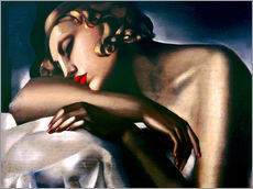 Gallery print  The sleeper - Tamara de Lempicka