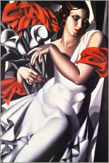 Wall sticker  Portrait of Ira P. - Tamara de Lempicka