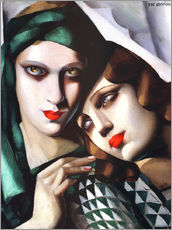 Wall sticker  The green turban - Tamara de Lempicka