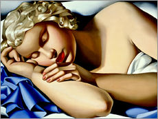 Gallery print  The Sleeping Girl (Kizette) - Tamara de Lempicka