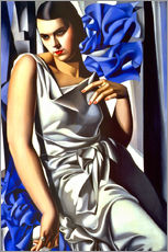Wall sticker  Portrait of Mrs. M. - Tamara de Lempicka