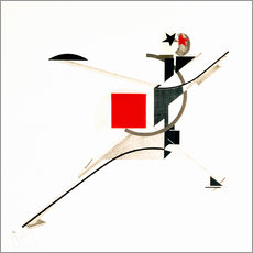 Wall sticker  The new man - El Lissitzky