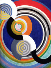 Wall sticker  Rhythm No.2 - Robert Delaunay