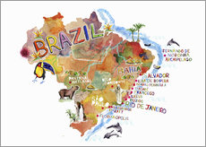 Gallery print  Colorful Brazil - Ikon Images