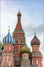 Wall Stickers  St. Basil's Cathedral at Red Square in Moscow - Click Alps