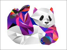 Wall Stickers  Pauline Panda - Miss Coopers Lounge