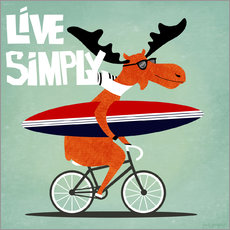 Wall sticker gaby jungkeit live simply
