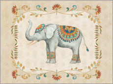 Wall sticker Elephant Walk III