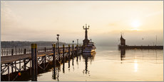 Gallery print  Morning mood in Constance on Lake Constance - Dieterich Fotografie