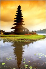 Gallery print  Temple on Bali - Bill Bachmann