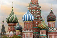 Wall sticker  St. Basil's Cathedral in Moscow - Miles Ertman