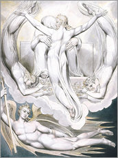 Wall sticker  Christ offers to redeem Man - William Blake