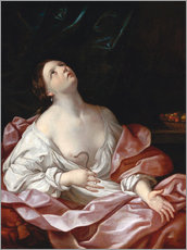 Wall sticker  Cleopatra with the Asp - Guido Reni