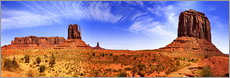 Wall sticker  Monument Valley - fotoping