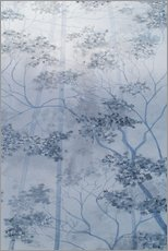 Wall sticker  Misty mood in the Sherwood Forest - Herb Dickinson