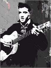 Wall sticker  Elvis Presley - 2ToastDesign
