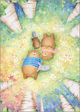 Gallery Print  Forest friends - Rebecca Richards