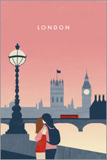 Wall sticker  London Illustration - Katinka Reinke