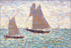 Gallery print  Boats In Harbor - Georges Seurat