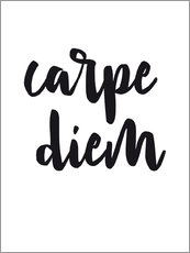 Wall sticker  Carpe Diem - Nouveau Prints