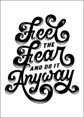 Gallery print  Feel the fear - Durro Art