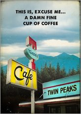 Gallery print  Twin Peaks - 2ToastDesign