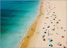 Gallery print  Summer holidays on the beach in the Algarve - Radu Bercan