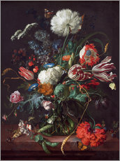 Gallery print  Vase of flowers - Jan Davidsz de Heem