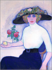 Gallery print  Woman with peach - Leo Gestel