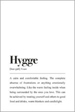 Wall sticker  Hygge Definition - Johanna von Pulse of Art