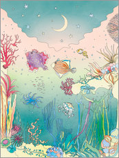 Wall sticker  Under the sea - Ella Tjader