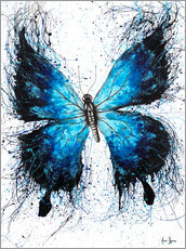 Acrylic print  The Butterfly Tattoo - Ashvin Harrison
