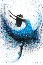 Wall sticker  Dance in the ocean mist - Ashvin Harrison