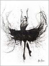 Acrylic print  The black swan - Ashvin Harrison
